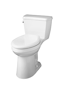 Gerber 21-014 Avalanche One-Piece Gravity-Fed Toilet - 12-inch Rough-In