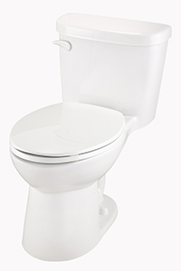 "Gerber 21-018 Maxwell 1.28gpf 12"" Compact Elongated Toilet White"