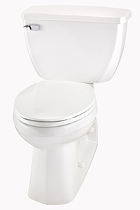 Gerber 21-325 Ultra Flush ErgoHeight™ Elongated Two Piece Pressure-Assist Back Outlet Toilet