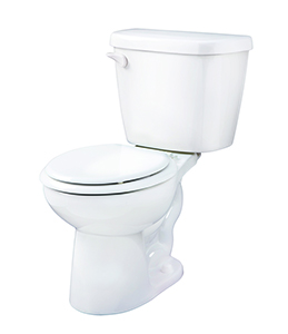 Gerber 21-904 - Maxwell ® 1.28 gpf (4.8 Lpf) Round Front Two Piece Toilet, 14-inch Rough-In