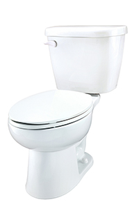 Gerber 21-910 - Maxwell ® 1.28 gpf (4.8 Lpf) Elongated Two Piece Toilet, 10-inch Rough-In