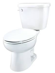 Gerber 21-912 - Maxwell ® 1.28 gpf (4.8 Lpf) Elongated Two Piece Toilet, 12-inch Rough-In