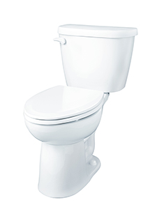 Gerber 21-918 - Maxwell ® 1.28 gpf (4.8 Lpf) Elongated, ErgoHeight™ Two Piece Toilet, 12-inch Rough-In