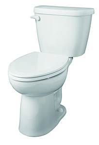 Gerber 21-924 - Maxwell ® 1.28 gpf (4.8 Lpf) Elongated, ErgoHeight™ Two Piece Toilet, 14-inch Rough-In