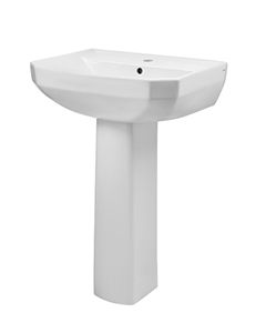Gerber 23-561 Viper¨ Single Hole Petite Pedestal Bathroom Sink