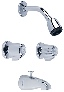 "Gerber 46-520-83 Classics 6"" Center Tub & Shower Fitting 2.0gpm Chrome"