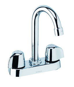 Gerber 49-251 Gerber Classics 2 handle Bar Faucet 2.2gpm (Chrome)