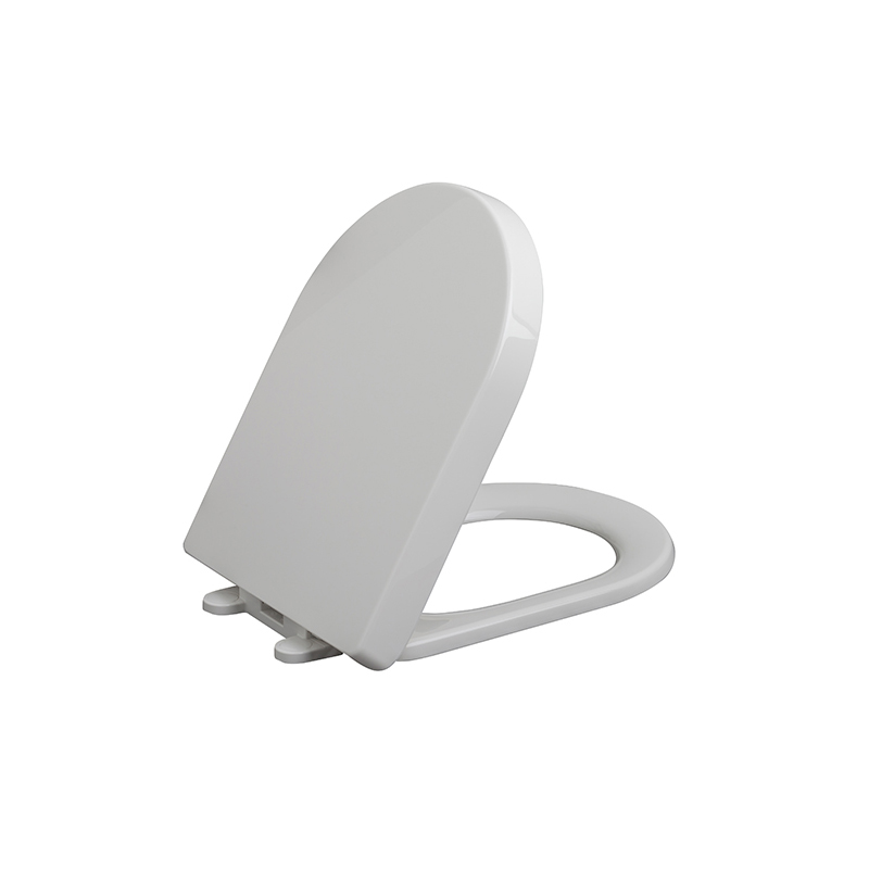 Gerber 99 859 Elongated Slow Close Toilet Seat White