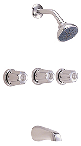 Gerber 0748030¨ Classic Three Handle Tub & Shower Fitting