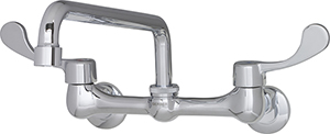 Gerber C0-44-333 Commercial Two Handle Wall Mount Kitchen Faucet