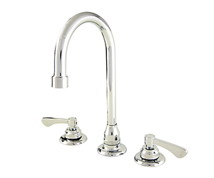 Gerber C4-44-105 Commercial Two Handle Widespread Lavatory Faucet