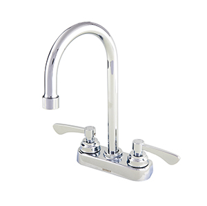 Gerber C4-44-555 Commercial Two Handle 3 Hole Lavatory Faucet