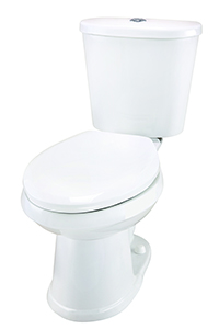 Gerber DF-21-112 Maxwell Dual Flush Elongated Two-Piece Toilet - 12-inch Rough-In