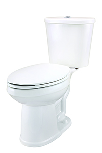 Gerber DF-21-117 Maxwell Dual Flush ErgoHeight™ Elongated Two-Piece Toilet - 10-inch Rough-In