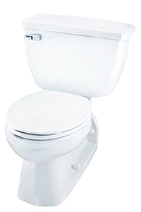 Gerber EF-21-310 Ultra Flush 1.1 gpf Elongated Back Outlet Two-Piece Toilet