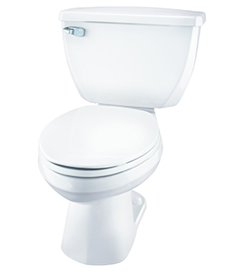 Gerber EF-21-312 Ultra Flush 1.1 gpf Elongated Two-Piece Toilet - 12-inch Rough-In