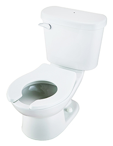 Gerber HE-20-601 PeeWee Children's 1.28 GPF Gravity Toilet White