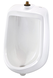 Gerber HE-27-730 North Point 0.5 GPF Urinal Washout Half Stall White
