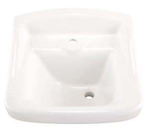 Gerber NH-12-661 Monticello Hygienic Hospital Basin White
