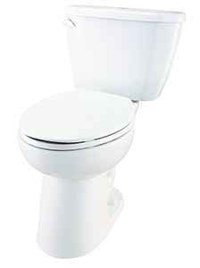 "Gerber VP21519 Viper 1.6 gpf 12"" Compact Elongated ErgoHeight Toilet"